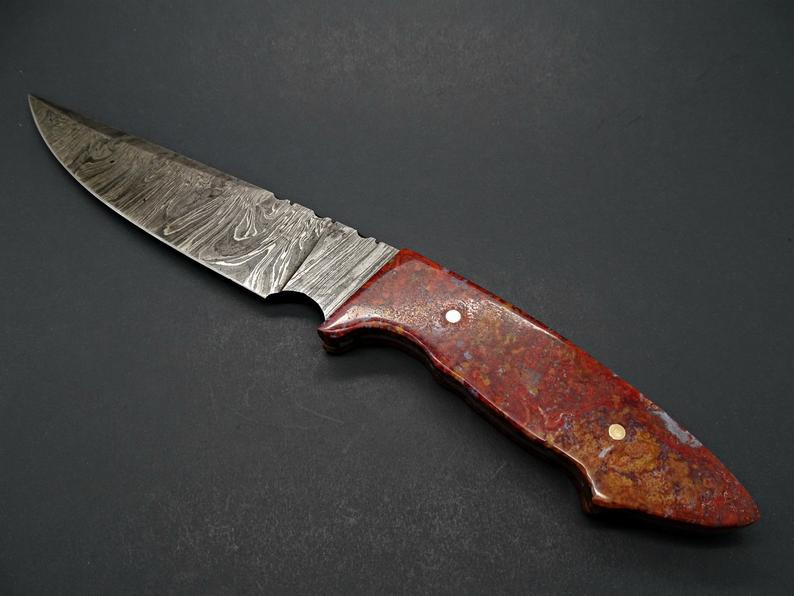 Material gagang pisau